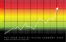 Toenemende economie Stock Afbeelding