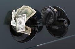 Toenemende gasprijzen Stock Foto's