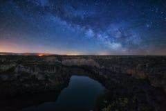 Toenemende Melkweg Stock Afbeelding