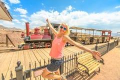 Toerisme bij Calico royalty-vrije stock fotografie