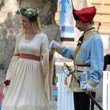 Toerisme in de Imitator en de Fee van Jelacic van Zagreb/van het Verbod stock fotografie