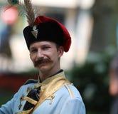 Toerisme in de Imitator van Jelacic van Zagreb/van het Verbod royalty-vrije stock afbeeldingen
