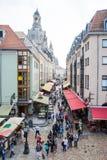 Toerisme in Dresden Royalty-vrije Stock Foto