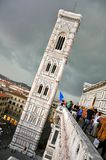 Toerisme in Florence Stock Foto