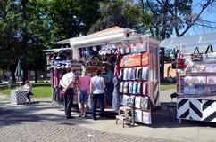 Toerisme in heilige-Petersburg, Rusland Stock Fotografie