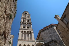 Toerisme in Kroatië/Spleet, de Kathedraal van Heilige Domnius royalty-vrije stock fotografie