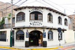 Toerisme in Lima, de hoofdstad van Peru royalty-vrije stock afbeelding