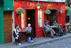 Toerisme in Parijs 2 stock afbeeldingen