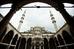 Toerisme van de architectuur het beroemde Istanboel van de stadstempel Stock Afbeeldingen