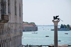 Toerisme in Venetië Stock Fotografie