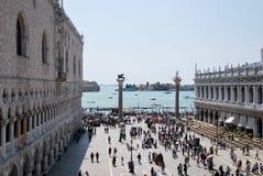 Toerisme in Venetië Royalty-vrije Stock Afbeeldingen