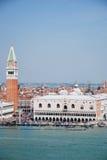 Toerisme in Venetië Stock Foto's