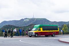 Toerisme in Verenigde Staten - Los Angeles royalty-vrije stock afbeeldingen