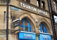 Toerismebureau - een belangrijke plaats voor bezoekers stock foto