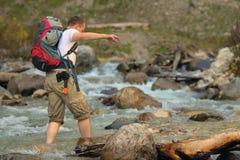 Toerist stock afbeeldingen