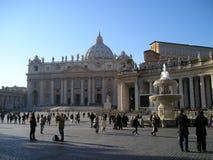 Toerist in Rome stock foto