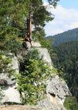 Toerist het letten op van de Mening van Thomasin Slowaaks Paradijs Stock Fotografie