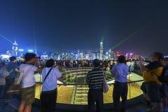 Toerist in Hongkong royalty-vrije stock fotografie