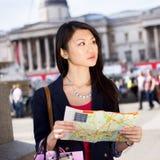 Toerist in Londen royalty-vrije stock afbeelding