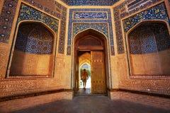Toerist in Oezbekistan royalty-vrije stock foto's
