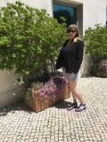 Toerist in Portugal Stock Fotografie