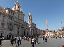 Toerist in Rome royalty-vrije stock afbeelding