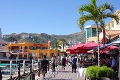 Toeristen in Cabo San Lucas royalty-vrije stock afbeeldingen