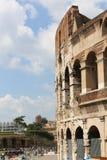 Toeristen in Coliseum - Rome Stock Fotografie
