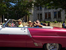 Toeristen in Cuba royalty-vrije stock fotografie