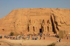 Toeristen in Egypte Stock Afbeeldingen