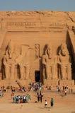 Toeristen in Egypte Royalty-vrije Stock Afbeelding