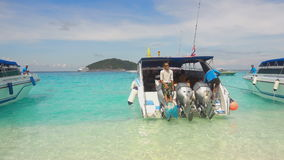 Toeristen in Similans stock videobeelden