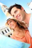 Toeristen in Venetië stock foto