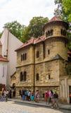 Toeristen voor de Joodse Plechtige Zaal Royalty-vrije Stock Fotografie