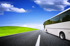 Toeristenbus het reizen Stock Foto