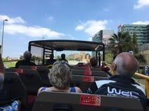 Toeristenbus in Lissabon Stock Foto's