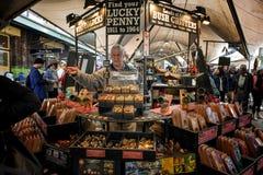 Toeristenmarkten bij de Rotsen, Sydney Australia stock fotografie