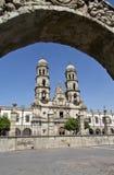 Toeristenmonumenten van de stad van Guadalajara royalty-vrije stock fotografie