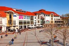 Toeristentoevlucht Sopot Stock Fotografie