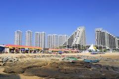 Toeristische attracties in aanbouw Royalty-vrije Stock Afbeeldingen