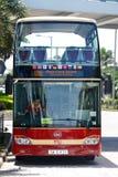 Toeristische Bus in Hong Kong Royalty-vrije Stock Afbeeldingen