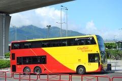 Toeristische Bus in Hong Kong Stock Foto