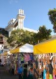 Toeristische plaats in Salvador stock afbeelding