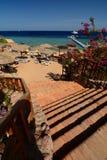 Toeristische Toevlucht Sharm el Sheikh Rode Overzees Egypte royalty-vrije stock foto's