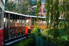 Toeristische trein Stock Afbeeldingen