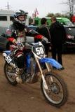 Toernooien van de Oekraïne aan op super aan motocross Stock Foto