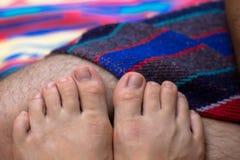 toes стоковая фотография rf