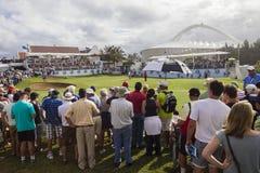 Toeschouwers van de Club van het Land van Durban de Definitieve Groene Royalty-vrije Stock Foto's