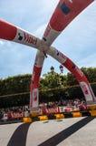 Toeschouwers van Le Tour DE Frankrijk Stock Foto's