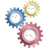 Toestel & horloges stock illustratie
